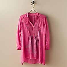 Women's Turkish Screen-Print Tunic