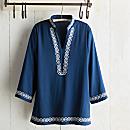 Bandung Blue Indonesian Tunic