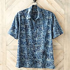 Men's Indonesian Batik Heritage Shirt