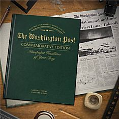 ''Remember When'' Commemorative Washington Post Book
