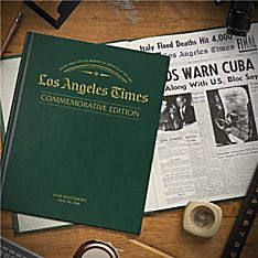 ''Remember When'' Commemorative LA Times Book