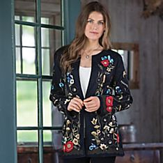 Lodi Gardens Embroidered Jacket