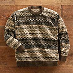 Tiwanaku Tapestry Alpaca Sweater