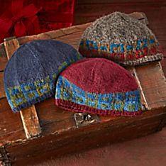 Nepalese Stupa Knit Hat