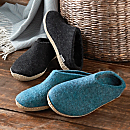 Women's Danish Wool Travel Slippers