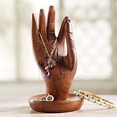 Indian Mudra Jewelry Holder