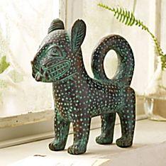 Benin Ceramic Leopard