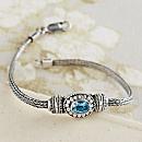 Flores Aquamarine Bracelet