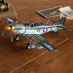 1943 Mustang P-51 Model Plane