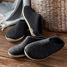 Men's Danish Wool Travel Slippers