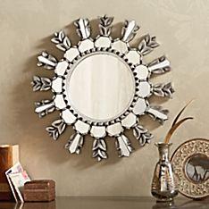 Peruvian Gilded Wood Mirror