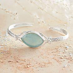 Roman Glass Cuff Bracelet