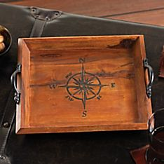 Spice Islands Compass Rose Tray