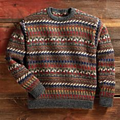 Cusco Roads Alpaca Sweater