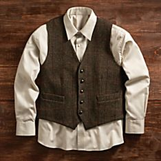 Muckross Tweed Vest