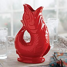 Glug Glug Fish Pitcher