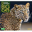 2016 National Geographic Big Cats Wall Calendar