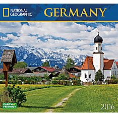 2016 National Geographic Germany Wall Calendar