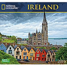 2016 National Geographic Ireland Wall Calendar