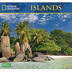 2016 National Geographic Islands Wall Calendar