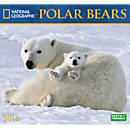 2016 National Geographic Polar Bears Wall Calendar