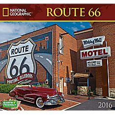 2016 National Geographic Route 66 Wall Calendar