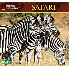 2016 National Geographic Safari Wall Calendar