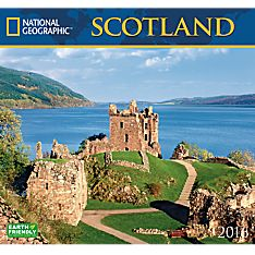 2016 National Geographic Scotland Wall Calendar