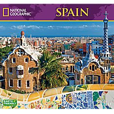 2016 National Geographic Spain Wall Calendar