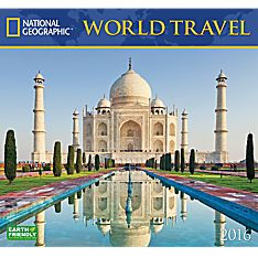 2016 National Geographic World Travel Wall Calendar
