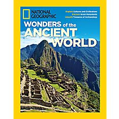 National Geographic Wonders of the Ancient World Special Issue