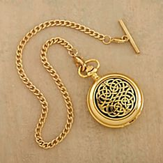 Celtic Never-ending Knot Pocket Watch