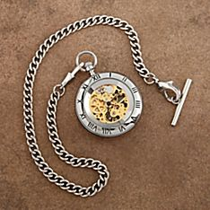Celtic Open-face Pocket Watch