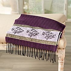 Scottish Gaelic Thistle Scarf