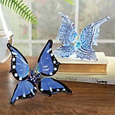 Lampworked Glass Butterfly
