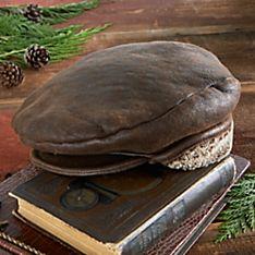 Shearling Troon Cap