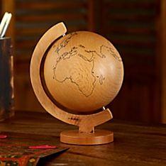 Daydream Wooden Globe