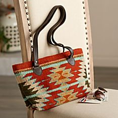 Zapotec Butterfly and Blossom Purse