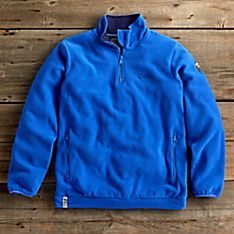 National Geographic Men's Fleece Society Seal Pullover