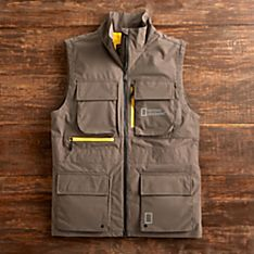 National Geographic Men's Four-pocket Zipper Vest