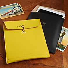 National Geographic Recycled Leather iPad Case