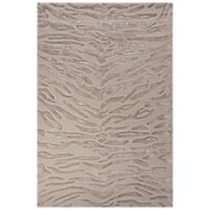 National Geographic Tiger Tufted Rug - Beige