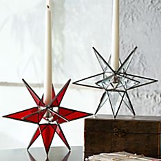 Moravian Star Candle Holder