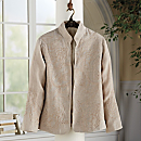 Boteh Embroidered Linen Jacket