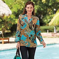 Indian Ocean Cotton Tunic