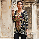 Indian Ikat Travel Tunic