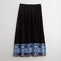 Jaipur Blue Pottery Skirt