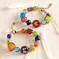 Carnival Colors Venetian Bracelet