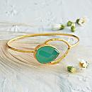 Anatolian Blue Gold Bracelet