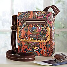 Desert Owl Cross-body Bag